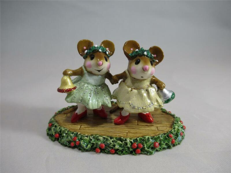 Wee Forest Folk Christmas Belles - Original Color - WFF Box - Retired