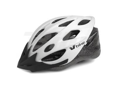 Casco Bici Bicicleta MTB Ciclismo Blanco Adulto Talla M 55-58CM