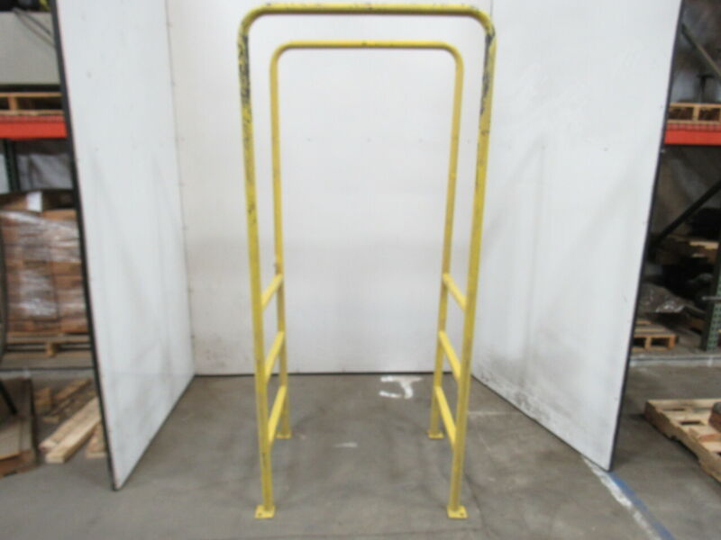 "30"" BF 3 Step 36"" Tall Conveyor Crossover Double Sided Ladder 78"" OAL"