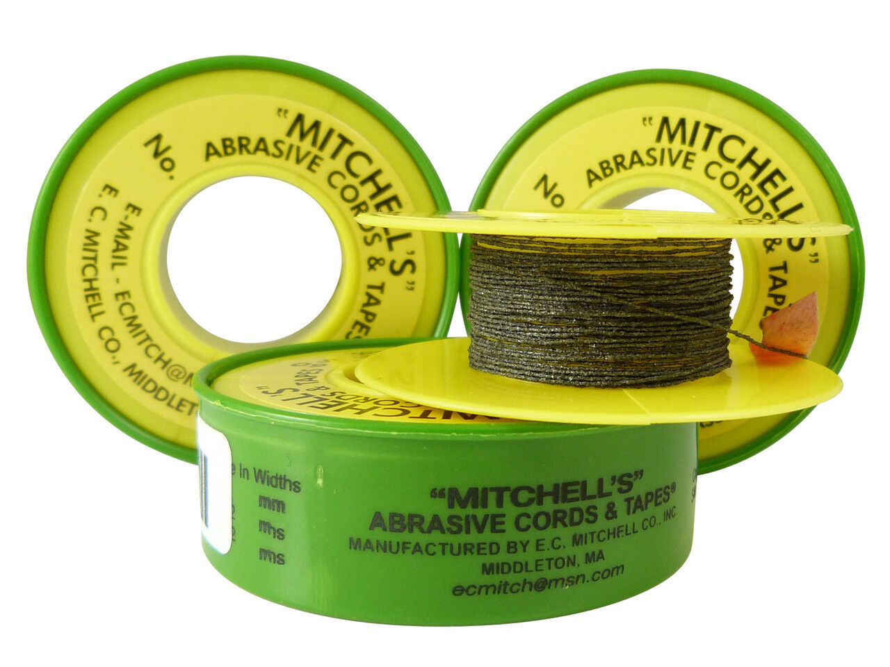 *NOS* MITCHELL/'S ABRASIVE CORDS /& TAPES 55 *FREE SHIPPING*
