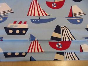 Made to Measure Nautical Roman Blind