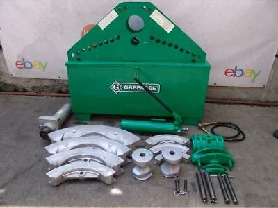Greenlee 885 Hydraulic Bender 1 14 To 5 Inch Rigid Pipe Works Great