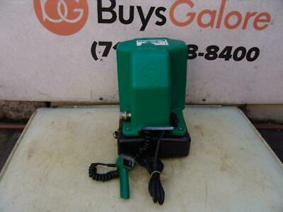 Greenlee 980 Electric Hydraulic Pump Pressure Tested 10000 Psi Great Shape 1