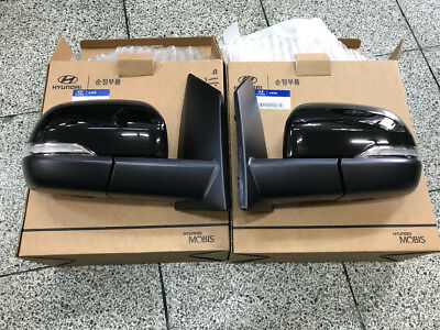 LED Light Side Mirror Cover for Hyundai i800 iMAX H1//Grand Starex 2007~on 1way