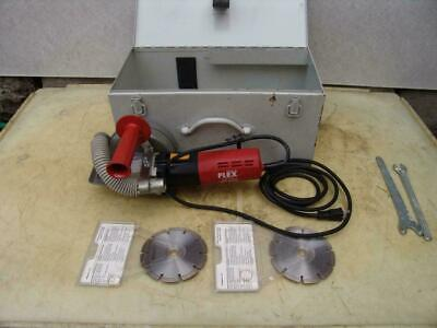 Flex M1509-fr Concrete Tile Dual Blade Electric Saw Works Great