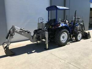 Ozziquip Tractor Mounted Pto Backhoe Excavator Molendinar Gold Coast City Preview