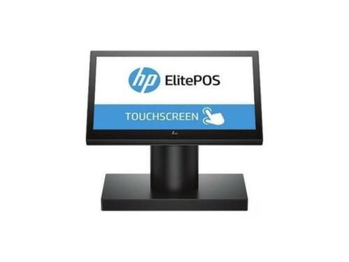 """HP ElitePOS G1 141 POS Kiosk 14"""" Touch Celeron 3965U 4GB 128GB Swivel Stand W10"""