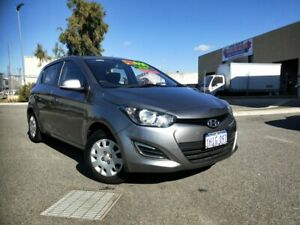 2013 Hyundai i20 PB MY12.5 Active Grey 4 Speed Automatic Hatchback Malaga Swan Area Preview