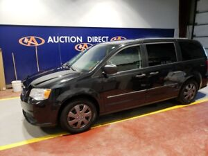 2014 Dodge Grand Caravan SE/SXT 2ND+3RD ROW STOW N GO, 3 ZONE...