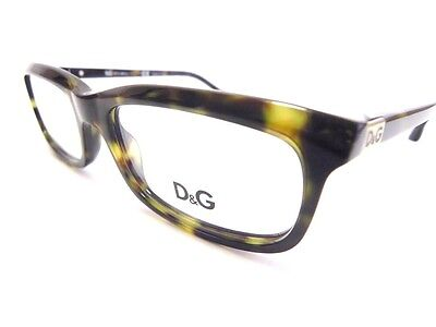 DG by Dolce & Gabbana Eyeglasses DG1214 1214 Tortoise col 502 New Authentic By Dolce & Gabbana Eyeglasses