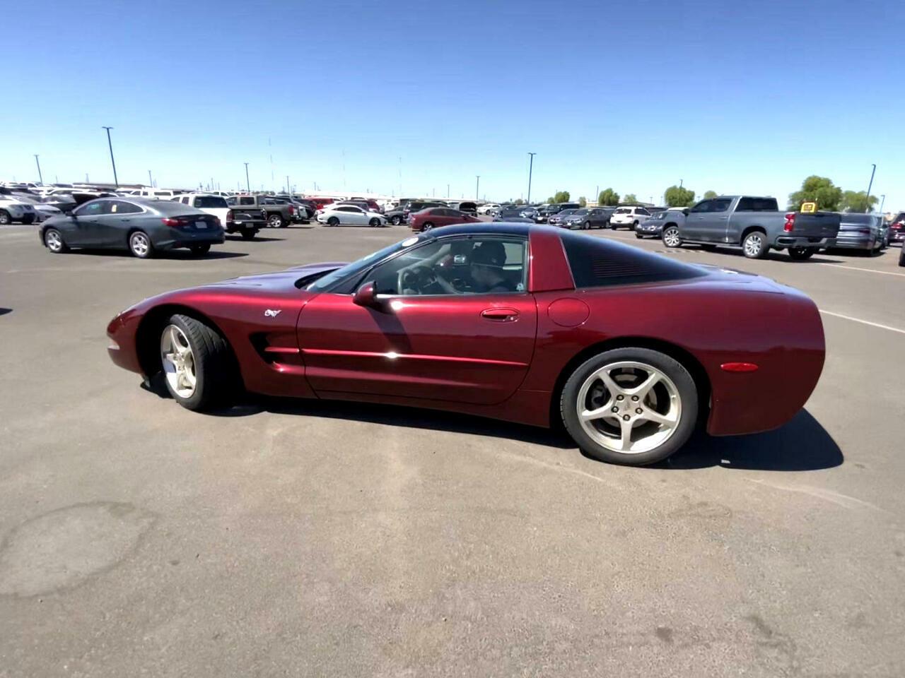 2003 Burgundy Chevrolet Corvette     C5 Corvette Photo 3