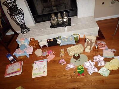 Huge lot American Girls Angelina Ballerina Furniture/Dolls and Books