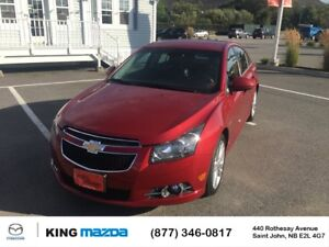 2013 Chevrolet Cruze LT Turbo- $89 B/W RS APPEARANCE PKG..6 SPEE