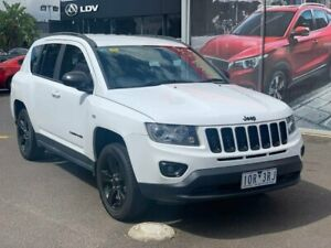 2014 Jeep Compass White Constant Variable Wagon Hoppers Crossing Wyndham Area Preview