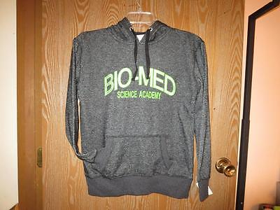 New Bio Med Science Academy Womens M Medium J America Black Hoodie 71Mm