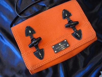 new Authentic Kate Spade New York bag purse...orange...classic (Dolce Gabbana New York)