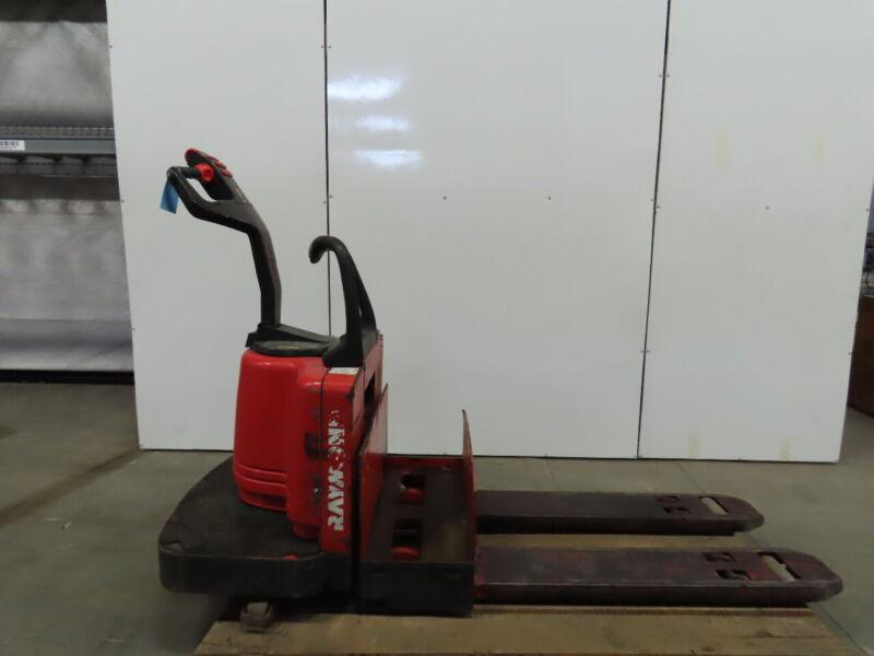 Raymond 112TM-FRE60L 6000Lb Capacity Electric Rider Pallet Jack 24V 3413.8 Hr
