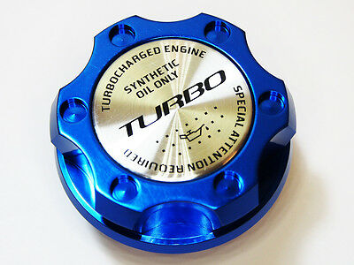 FITS DODGE VIPER RT SRT ACR RAM SRT10 V10 TURBO KIT BILLET ENGINE OIL CAP BLUE