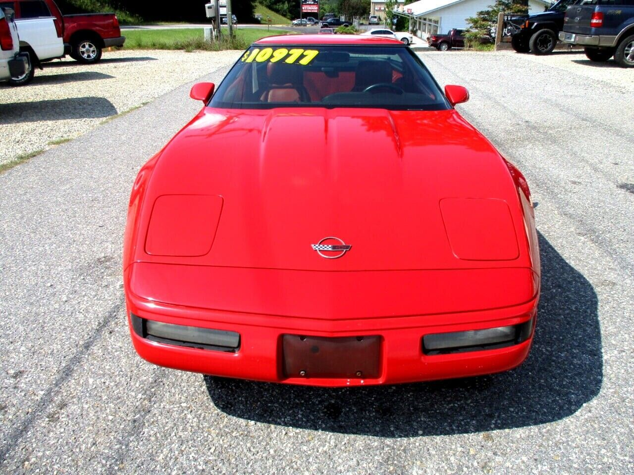 1991 Red Chevrolet Corvette Coupe    C4 Corvette Photo 8