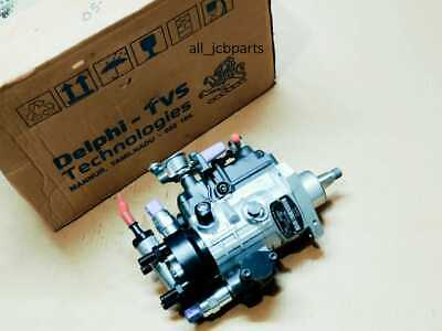 Genuine Delphi Jcb Diesel Fuel Injector Pump Non Turbo Eng Bs3 55 Kw 320a6526