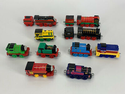 Lot 10 -Thomas & Friends Trackmaster Push Along Train Engines Yong Bao Axel Hiro