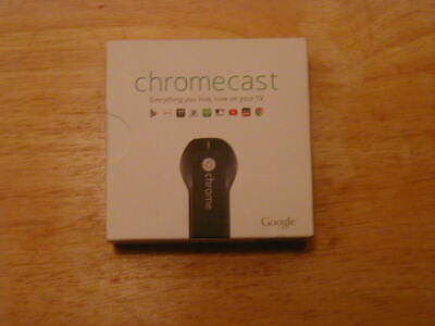 Google Chromecast HDMI Streaming Media Player - New! Factory Sealed