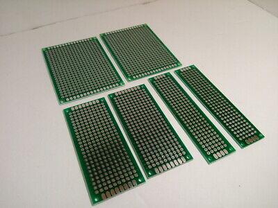 6x Kit Set Lot Pack Blank Soldering Circuit Board Universal Breadboard Prototype