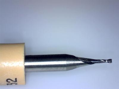 2-flute Carbide End Mill Bit  - 0.80 Mm - 132  - Cnc Router Pcb-1 Piece