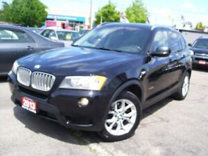 2013 BMW X3 X Drive28i,Bluetooth,Leather,Tinted,Certified,Fogs