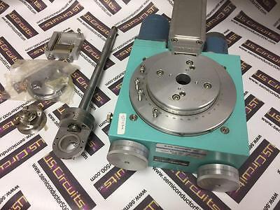 Huber 423 Base 2-circle Goniometer 423-10009 W 2 Motorized Slo-syn Motors