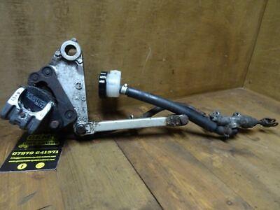 1998 Kawasaki ZZR 600  Rear Brake Assembly Caliper Master Cylinder