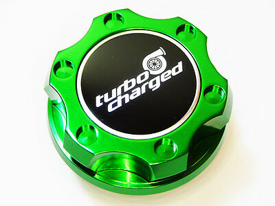 FITS DODGE VIPER RT SRT RAM SRT10 TURBOCHARGED HEMI BILLET ENGINE OIL CAP GREEN