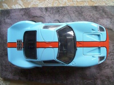 """FORD GT40 from Movie """"DIE ANOTHER DAY"""" JAMES BOND 007 1/43 DIORAMA NEW"""