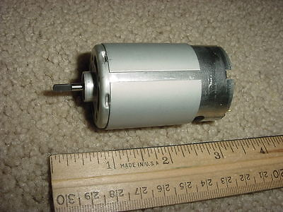 Small Dc Electric Motor  12 Vdc 3950 Rpm 1.25amp M96