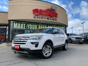 2018 Ford Explorer XLT+PAN-ROOF+NAV+LEATHER+7 PASSENGER+MORE
