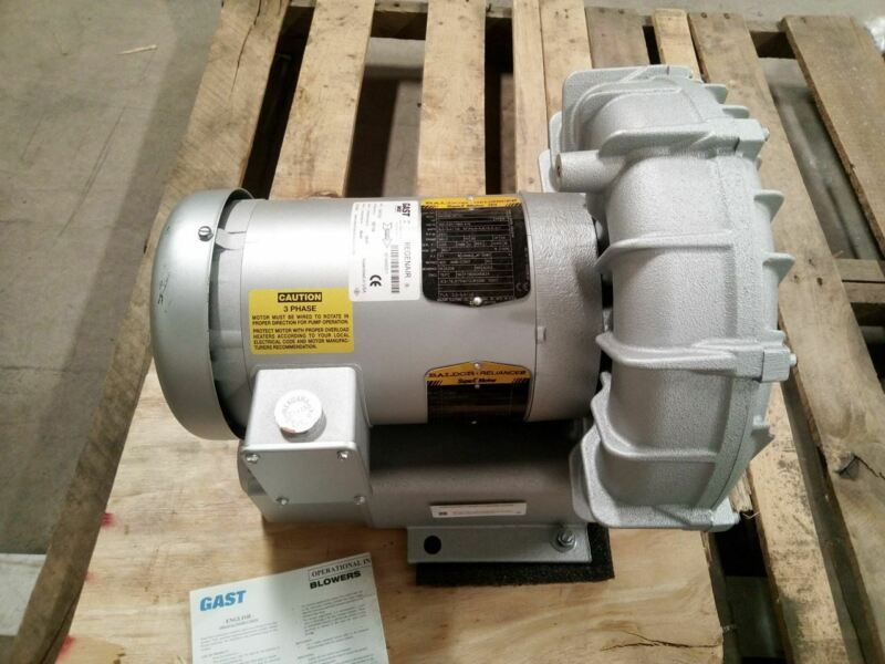 Gast R4P315A 1.5 HP 208-230/460V Regenerative Blower