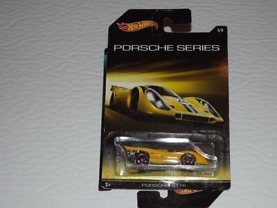 HOT WHEELS PORSCHE SERIES PORSCHE 917K DIE CAST RACING CAR!!