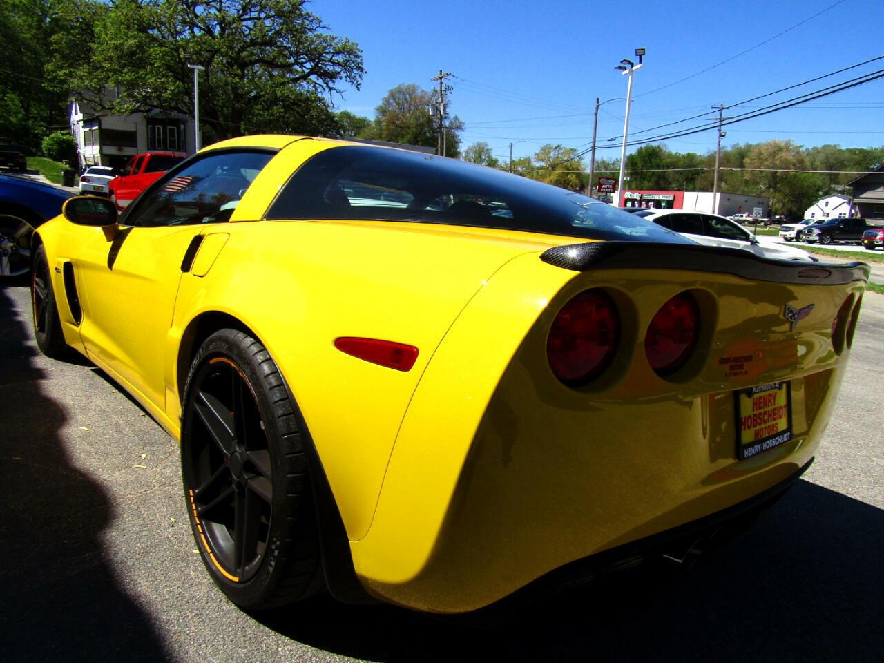 2006 Yellow Chevrolet Corvette Z06  | C6 Corvette Photo 7