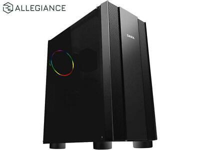 ALLEGIANCE Intel 8-Core CPU, 32GB RAM, 240GB SSD Video Editing Gaming Desktop PC