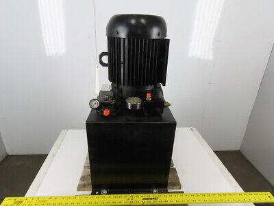Pneutech 7.5hp 230460v 3ph Hydraulic Power Unit 15 Gallon