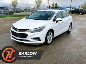 2017 Chevrolet Cruze Premier / Back Up Camera / Heated Leather S