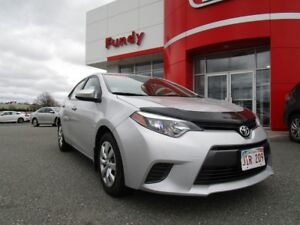 2015 Toyota Corolla LE w/heated front seats, A/C, B/T