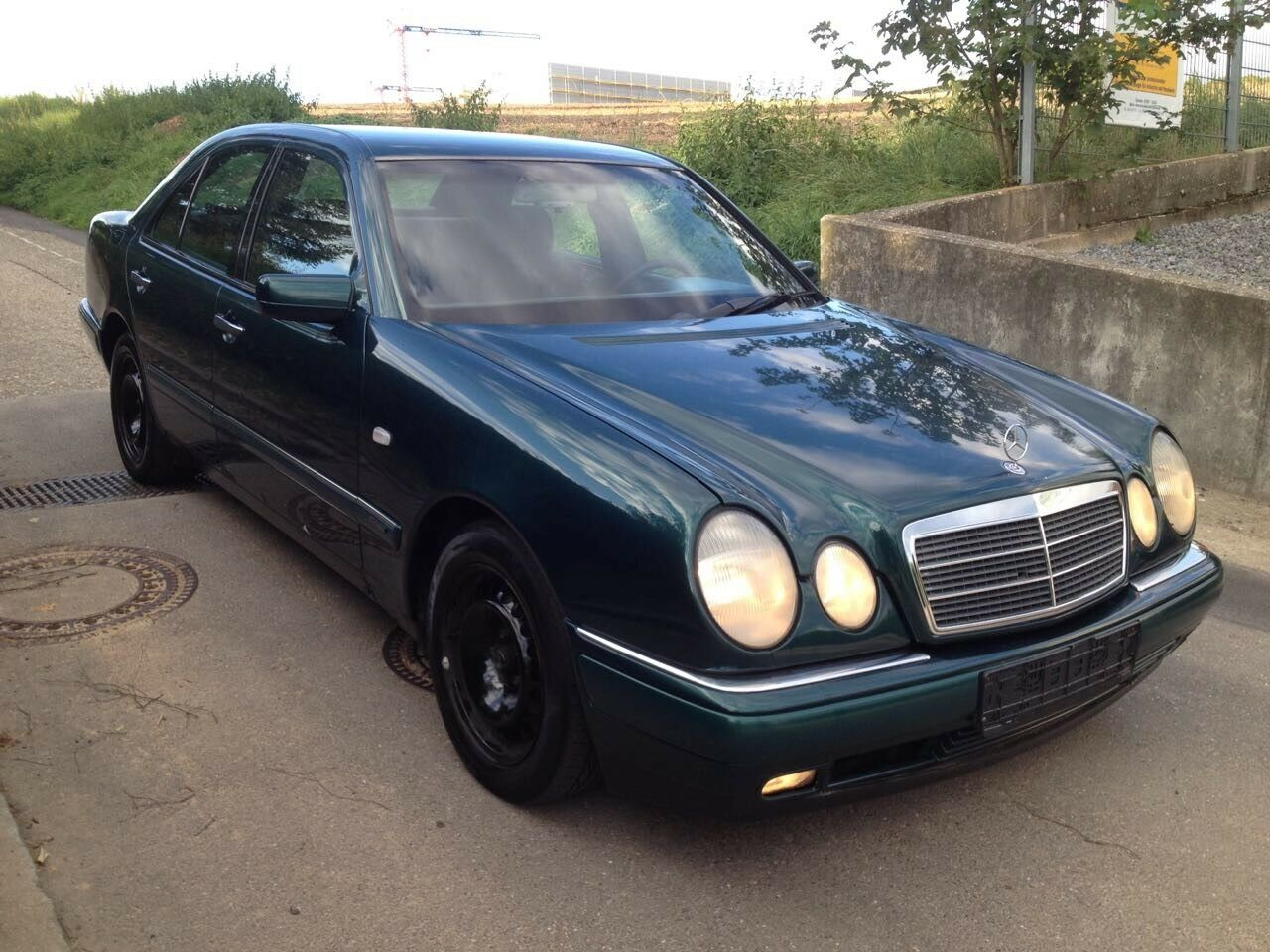 Mercedes Benz W210 280 E, Winterauto,