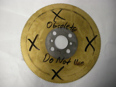 Used Remi Eisele Cold Cut Saw Blade 4 Approximately 9 X 0.105 Thick