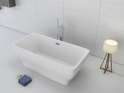 "Deluxe Acrylic 1001 NOW Como 67"" soaking tub freestanding bathtub"