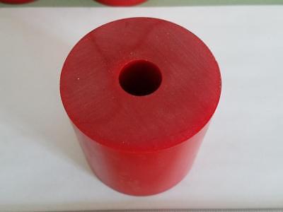 """POLYURETHANE 95 A RED TUBE P//N 11787 3//8/"""" ID x 1-1//8/"""" OD X 12/"""" LONG URETHANE"""