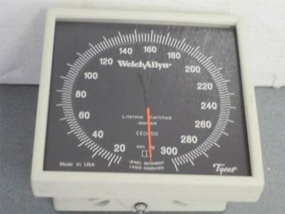 Welch Allyntycos Ce0050 Wall Mount Sphygmomanometer With Cuff Holder