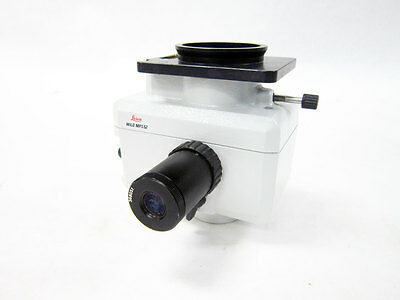 Leica Wild Mps52 Analog Camera Insert With 368051 Viewer Lens