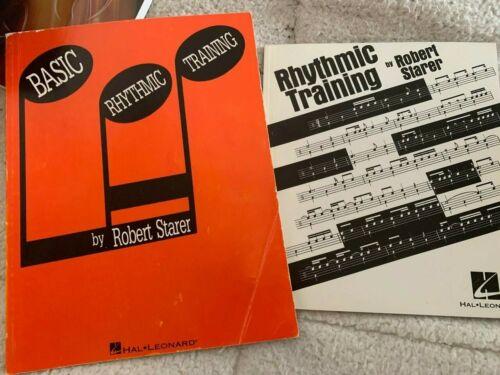 Basic Rhythmic Training and Rhythmic Training by Robert Starer (Vol 1 & 2)