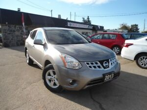 2013 Nissan Rogue ALLOY LOW KM SUNROOF NEW TIRES GAS SAVER B-TOO